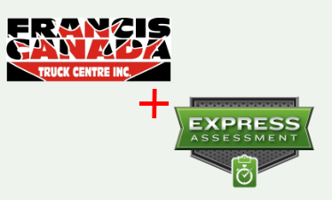 Francis Cananda Truck Centre plus Express Assessment bring unmatched service to our customers.